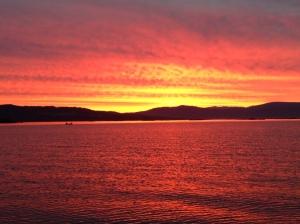 Sunrise, Muros.