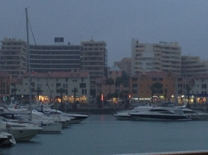 Vilamoura in the rain...