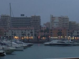 Vilamoura in the rain...