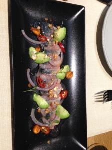Salmora - mackerel ceviche