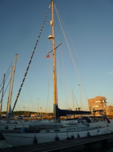 Finally on our berth at Barbate!