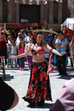Belly Dancer at the Moorish Festival